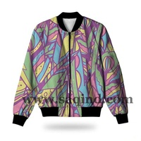 Full Sublimation Varsity Jackets For Girls Custom Varsity Jacket for club