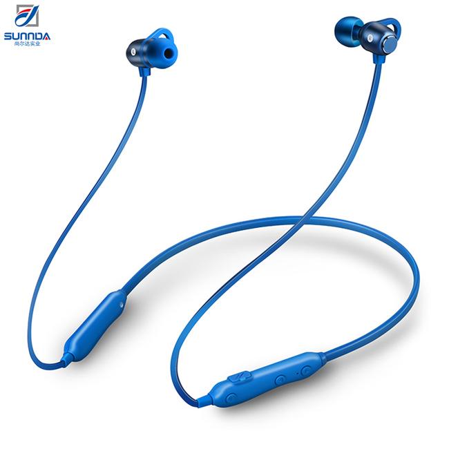 Sunnda HF Sound Quality Biofiber Diaphragm Magnet Design Prevent Twisting And Falling Off Sport Headset