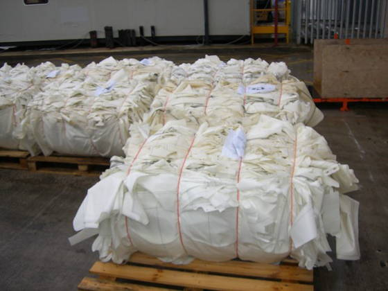Nylon 66 Plastic Sales-PA66 Scrap Plastic Nylon Airbag Scrap