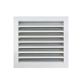 Air Conditioner Aluminum Ventilation Weatherproof Outside Wall Vent Air Louver Fresh Intake Rainproof Outdoor Louver