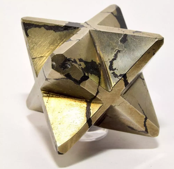 Pyrite  Markaba Star  For Sale Wholesale Dealers Gemstone For Meditation