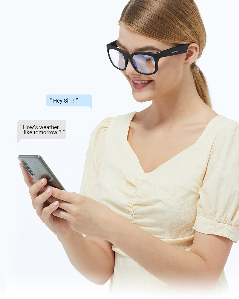 Bone Conduction Speaker Open Ear Sports Polarized Frame Wireless Smart Stereo Sound Audio Music Bluetooth Sunglasses