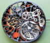 Swiss watch AUTOMATIC SWISS MADE private label Manufacture in Switzerland, QUARTZ SKELETON