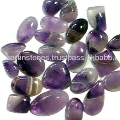Natural Amethyst Chevron lace agate cabochon Amethyst Chevron loose gemstone Bio Amethyst cabochon Stone for jewelry 38 Cts Amazing A-2482