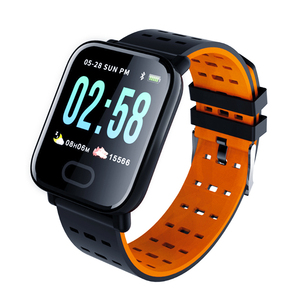 bracelet sports smart watch heart rate monitor fitness tracker sleep monitor waterproof sports watch UUTEK A6