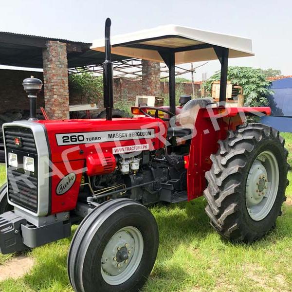 Massey Ferguson 260 60 Hp Two wheel farm tractor