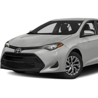 USED AND fairly used TOYOTA COROLLA 2017/ 2018 2019