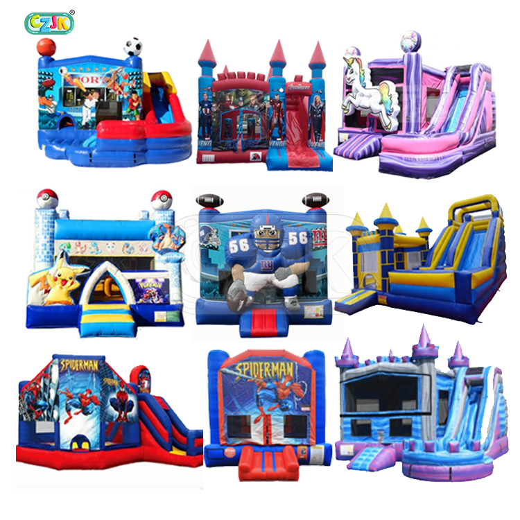 blow up air china commercial bouncing jumping bouncy inflatable castle