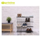 Ready to Ship plastic 4-tier shoe rack | Taiwan | display | modern | home storage | metal