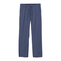 wholesale bulk 100% cotton mens flannel pajama pants set winter men plus size woven night pajama suit pants