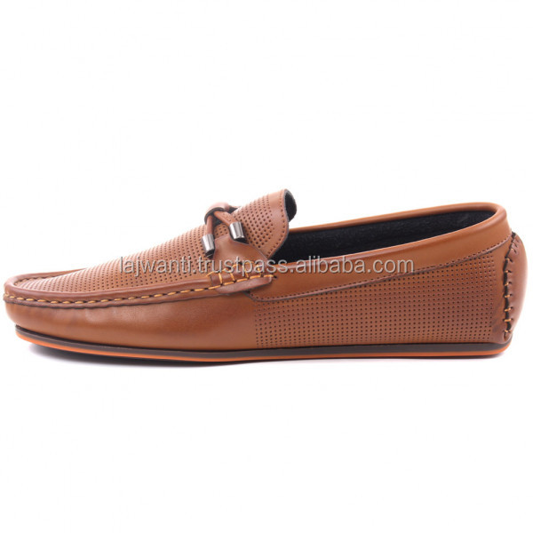 Leather shoe handmade high quality men high fashion shoes