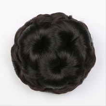 Afro Updo Chignon Clip In Bun <span class=keywords><strong>Hair</strong></span> Dome Pony Tail Synthetisch Clip In Haarstukje Bladerdeeg <span class=keywords><strong>Kinky</strong></span> Krullend Pruik Haar Koepel