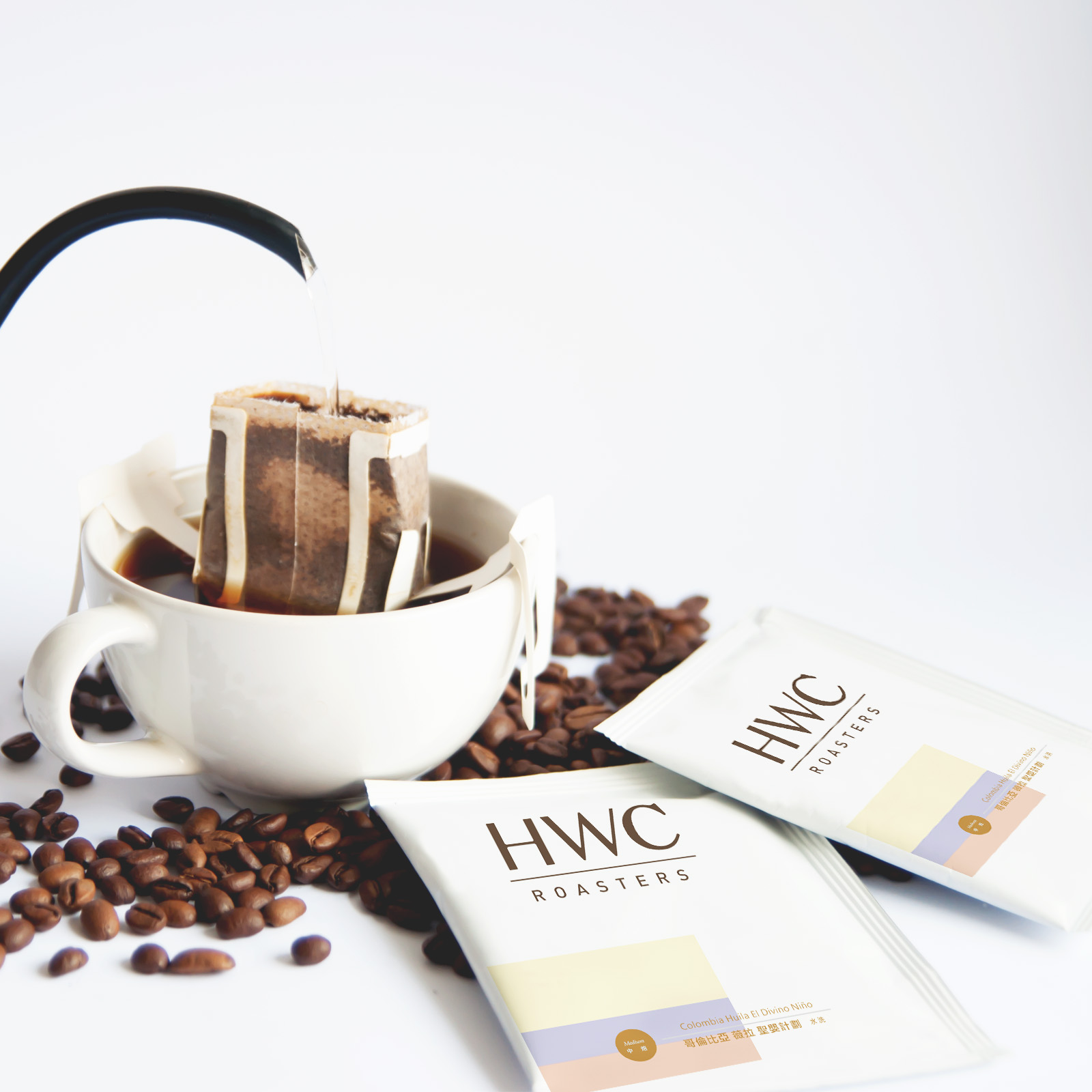 Colombia Huila El Divino Nino Hanging Ear Drip Coffee Ground Coffee OEM Customized Private Label Wholesale