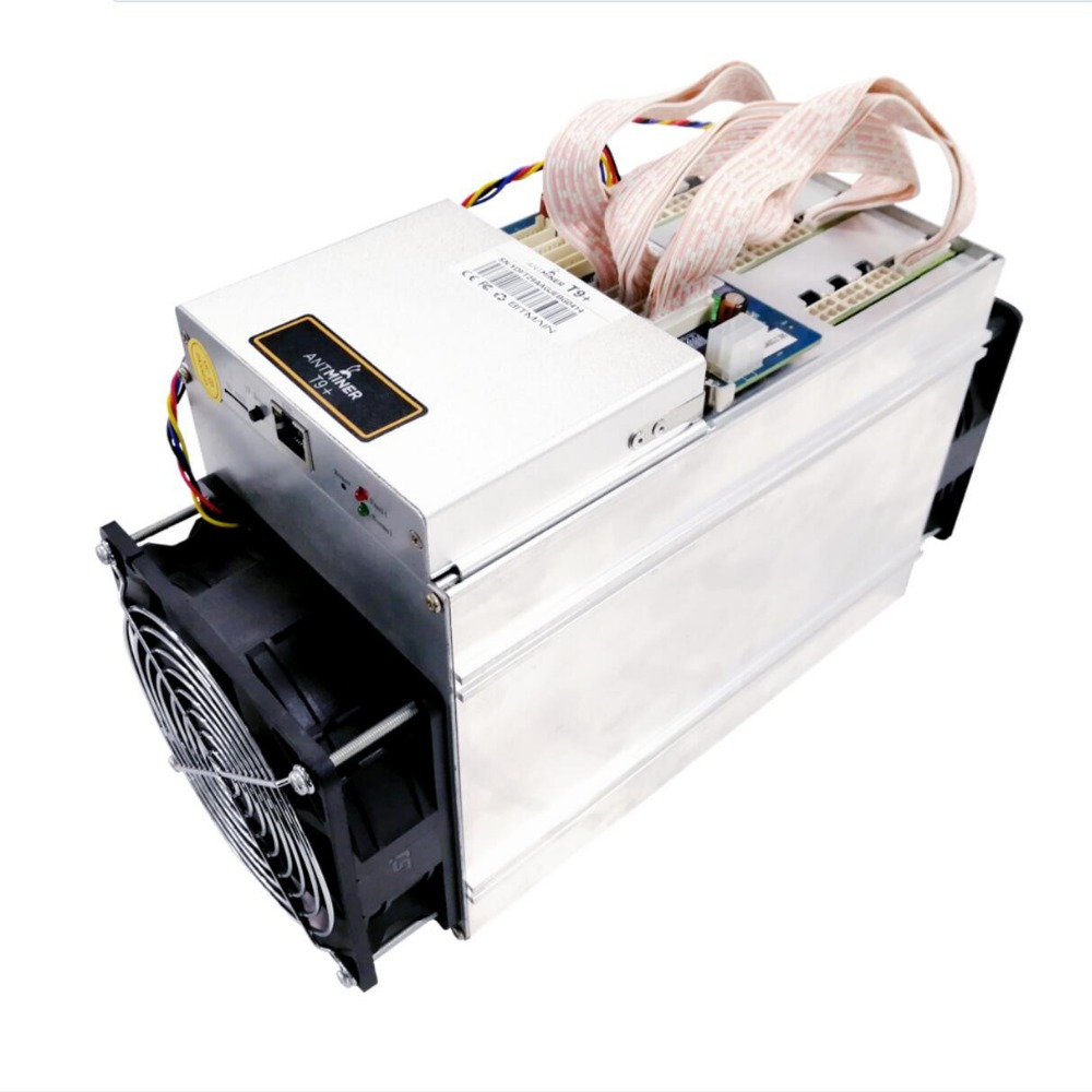 Best quality Used second hand Bitmain Antminer T9+ 10.5Th SHA-256 power supply 1432W Bitcoin Miner Antminer T9+ mining machine