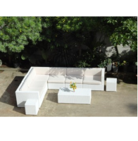 POLY RATTAN FLAT 7MM SOFA SET WITH ATTRACTIVE CUSHION