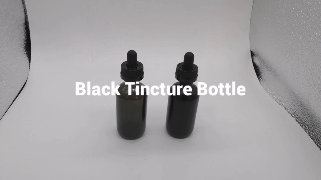 Boston Gefrostet Ätherisches Öl Mischung Nano Tinktur Droplet Flasche
