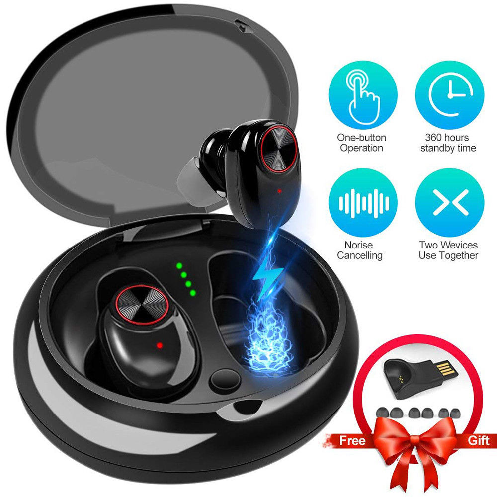 Perfect Sound TWS V5 Wireless Sports Running Earphone Waterproof Wireless Earbuds for IPhone X 8plus bluetooth earphone