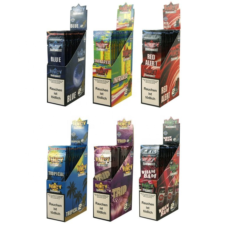 Juicy Jays รสคู่ Blunt Wraps Rolling Papers