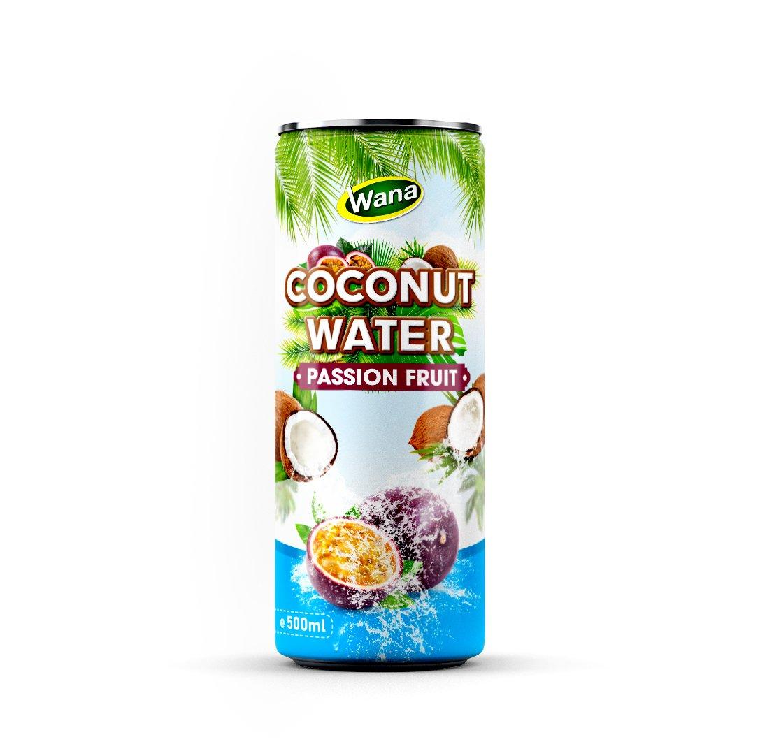 100% натуральный кокосовый водный напиток с фруктовым соком в консервной банке 320 мл