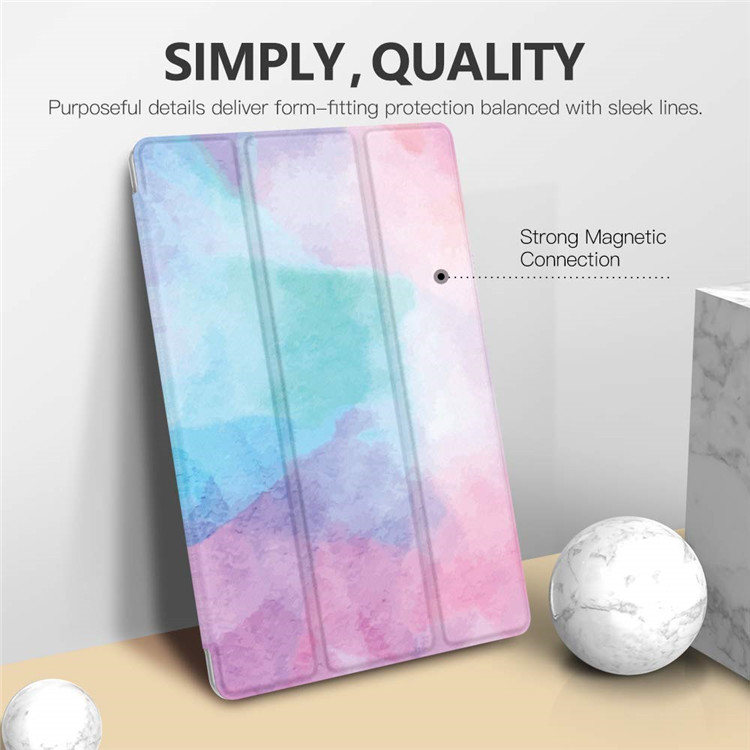 MoKo Smart Leather Ultra Thin Trifold Case Cover for Galaxy Tab S6 10.5''