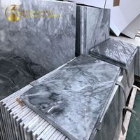 Good Price Nuvolato Apuano Classico Italian Carrar Italy Carrara Grey Marble For Interior Decoration