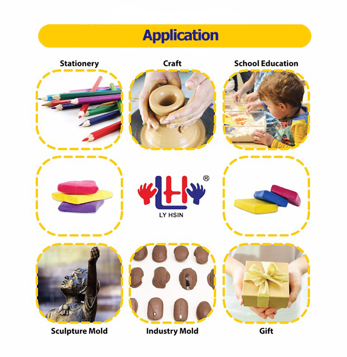Non Toxic Educational Toy  Modeling Air Dry Clay