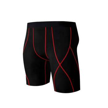Customized Solid Color Compression Shorts