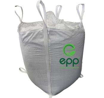 Vietnamese Company Specialize Top Fill Spout Flat Bottom Side Seam Loops 90x90x110 PP Jumbo Bag