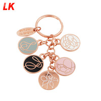 2019 China Manufacturer Make beautiful Custom Cheap Metal Keychain