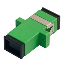 50 teile/los SC-APC Simplex modus Fiber optic Adapter SC APC Optische faser <span class=keywords><strong>koppler</strong></span>