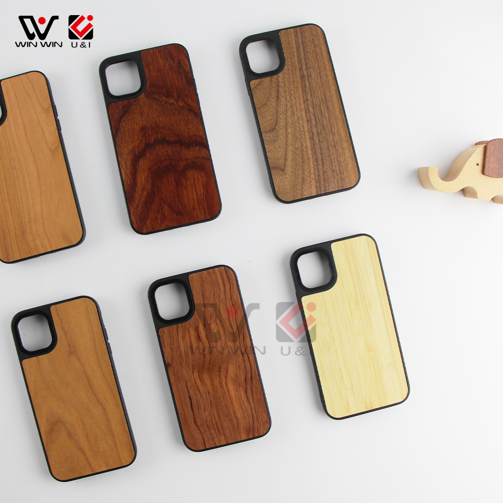 Fusion Walnut Cherry Wood +Shell Back Cover Cases For iPhone Xs Max