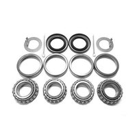 Trailer Hub Wheel Bearing Kit for 2000 EZ Lube Axles 1.00 L44649 Seal 1.250