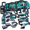 NEW Makitas Cordless Tool Kit 18 Volt 15 Pc Piece Lithium Ion Combo