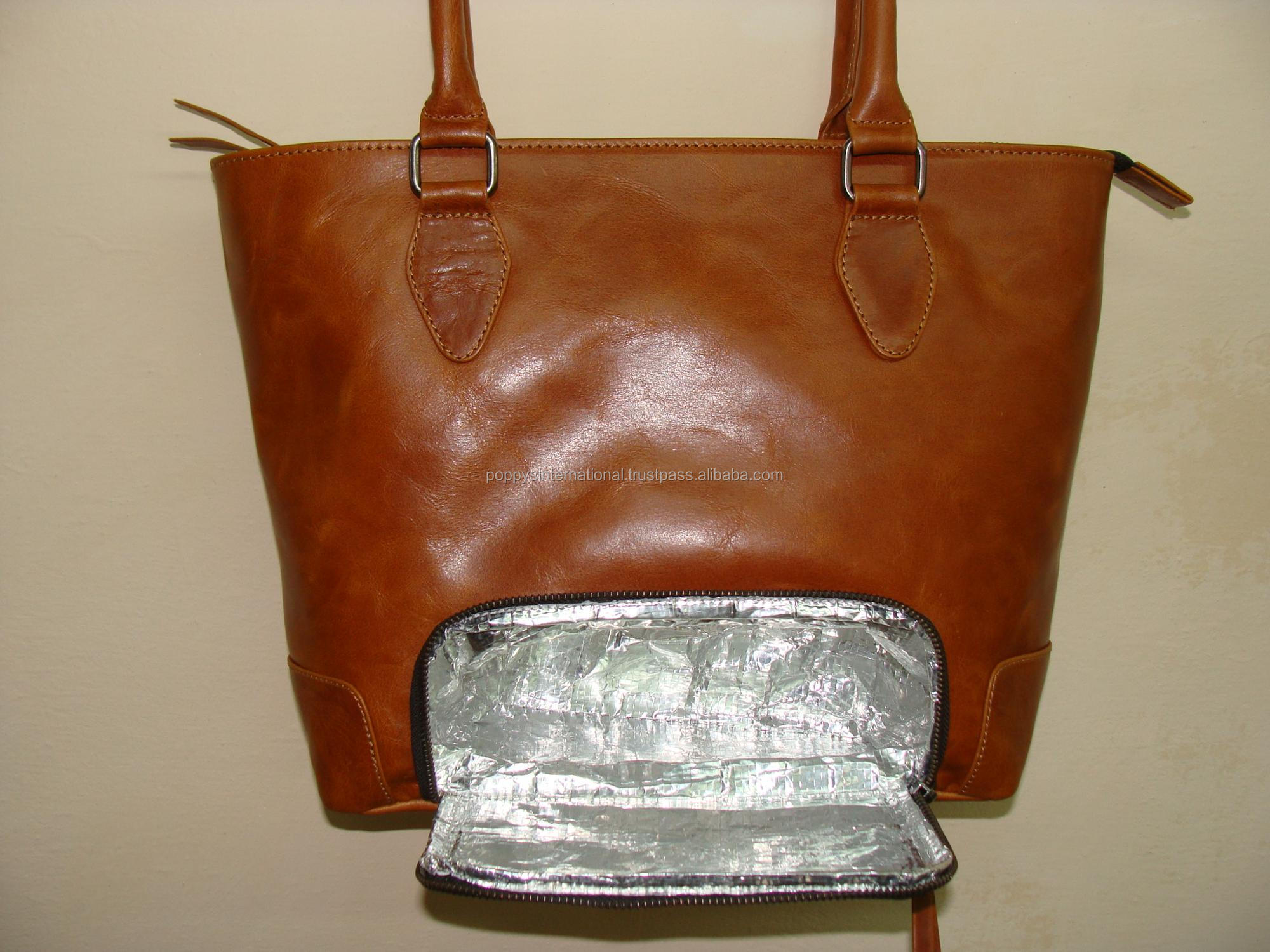 Tote Bag with built in Freezer and Lunch Pouch