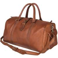 Top Quality Handmade Leather Duffle Bag