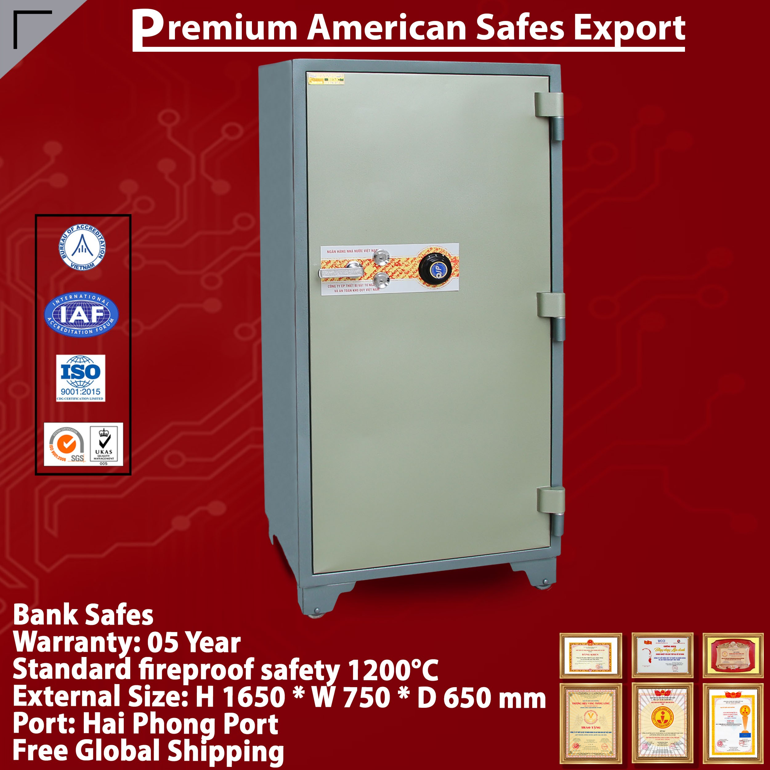 Bank Safes LX1650 DK The Best Bank Safes In the World From BEMC Safe