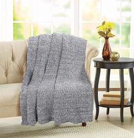 All Season Chunky & Cable Knitted Throw Blanket for Couch Sofa Bed Throw Blanket for Baby, Children, Adults