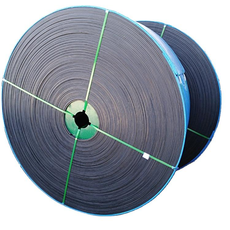 DIN 22102 standard high tensile strength EP630/4 conveyor belt for cement plant