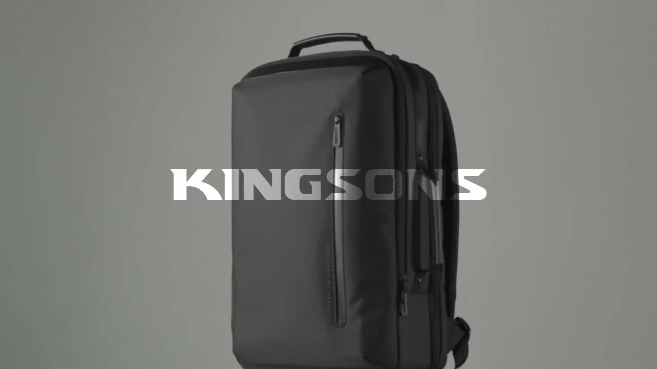 2020 d'ordinateur portable d'affaires de mode hommes sac à dos sacs à main noir élégant imperméable à l'eau sac à dos sac à dos avec port de chargement usb