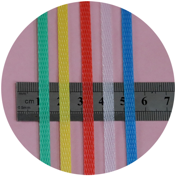 Yongsheng zw factory wholesale white pp width 5mm plastic strapping band for Carton strapping packaging