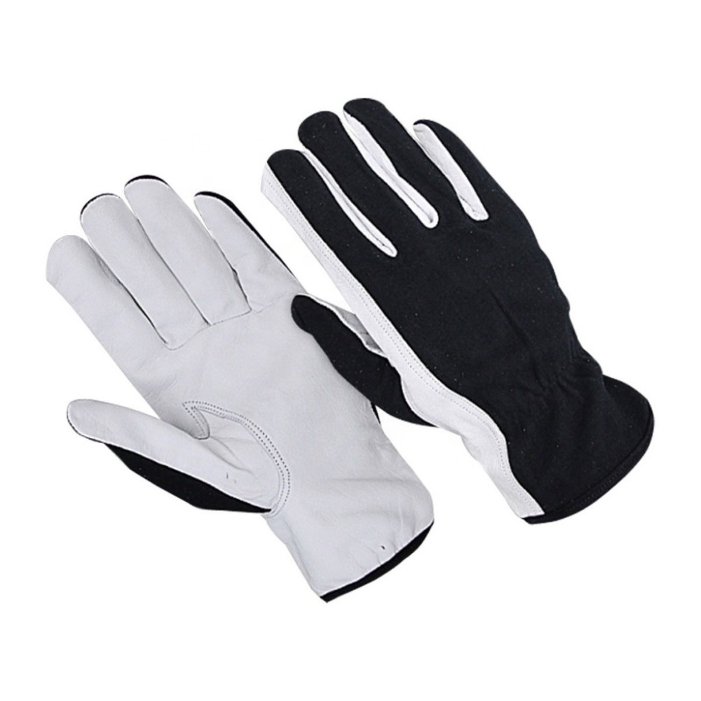 High Quality Leather Work Assembly Gloves / Working Gloves / Leather Safety Gloves
