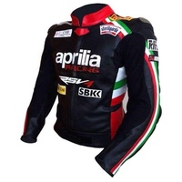 Max-biaggi-aprilia motogp Motorcycle Moto Racing Jacket ( Full Safety Motorbike Leather Jacket)