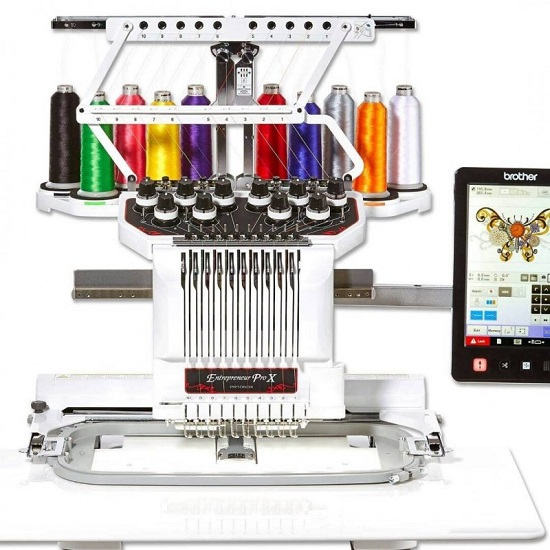 Affordable Brother Entrepreneur Pro X PR1050X Embroidery Machine