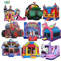cheap china moon bouncy jumping jumper bouncer inflatable bounce house
