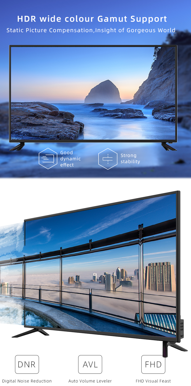 La maggior parte dei popolari 40 pollici full hd 2k android smart tv/led tv/tv lcd