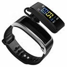 2 2 In 1 Color Touch TFT Screen Fitness Tracker Smart Bracelet Talkband With Removable Headset