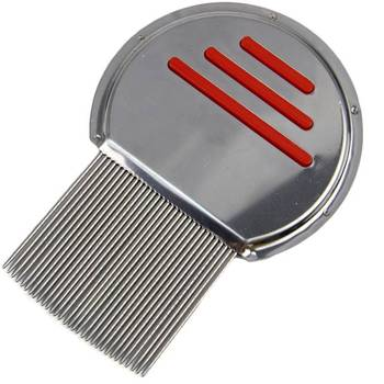 High Quality Stainless steel Nit Free Lice Comb, Stainless steel Metal Nit Free Head Hair Lice Comb