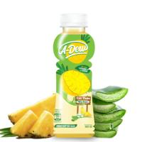 A-DEW Brand Pineapple Juice Aloe Vera 360ml Vietnam Best-selling OEM