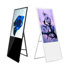 42 43 65 Inch New Wifi Lcd 4K Stand Wireless Battery Advertising Usb Monitor Digital Signage Portable Touch Screen Display