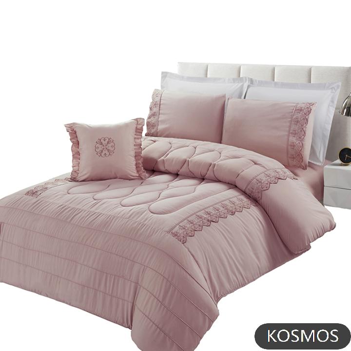KOSMOS Polyester microfiber Embroidery comforter